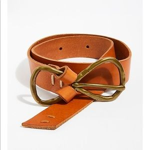 Free people beautiful leather belt